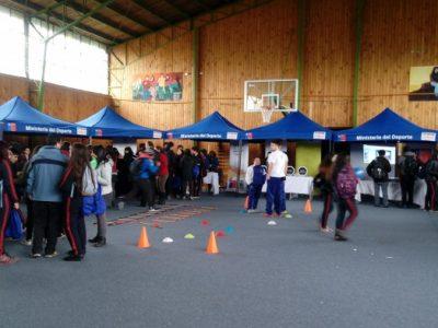 SENDA Previene Lanco participó en Feria de Promoción de Actividad Física y Deportes