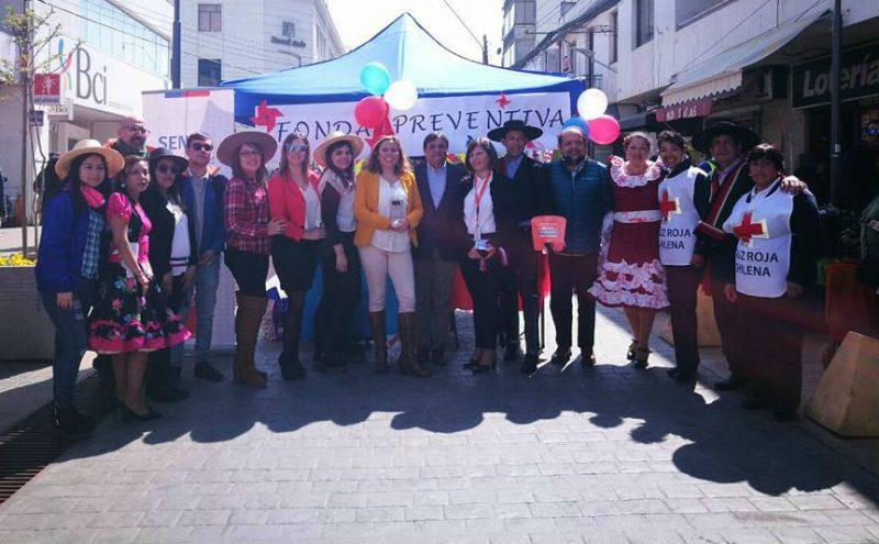 Con Fonda Preventiva llaman a Cuidar los Límites durante las fiestas patrias en Quillota