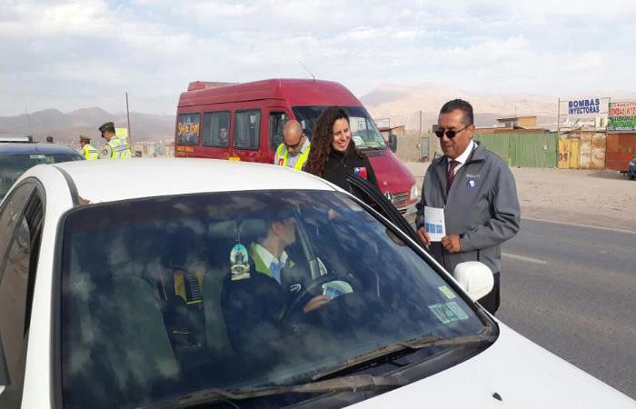 Desarrollan campaña para evitar accidentes de tránsito durante Fiestas Patrias