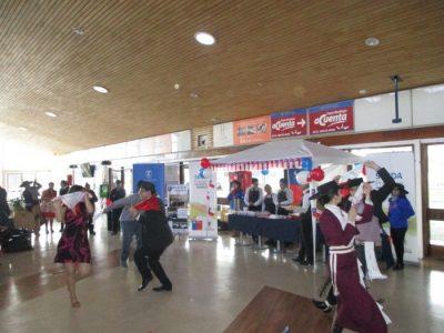 SENDA Previene Valdivia difundió Campaña Cuida tus límites en Fiestas Patrias