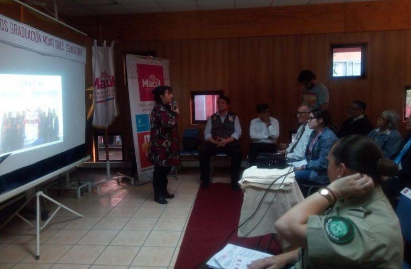 Vecinos y vecinas de Macul se certifican como Monitores en Prevención Comunitaria
