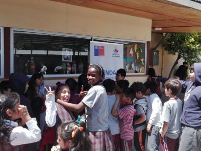 Realizan exitoso recreo preventivo en la Escuela Cornelia Olivares