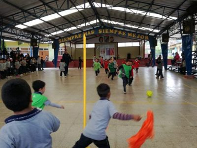 SENDA Previene Huechuraba da inicio a Campeonato de Fútbol Preventivo