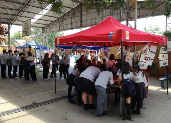 En Huechuraba conmemoran el Día de la Convivencia Escolar
