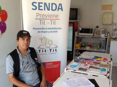 SENDA Previene Tiltil dialoga con trabajadores y trabajadoras