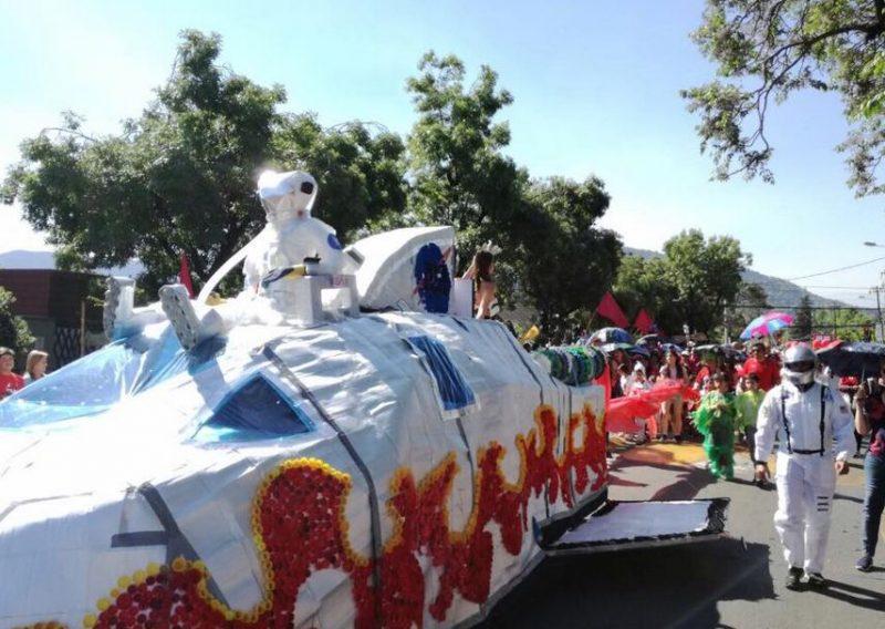 SENDA Previene Vitacura participa del Carnaval de Primavera