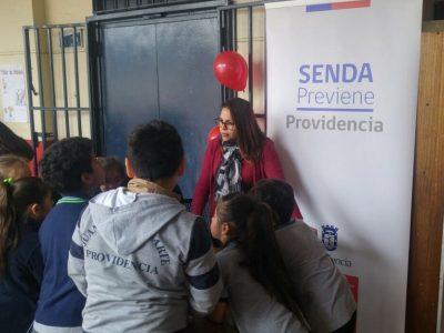 Previene Providencia dialoga con estudiantes y sus padres