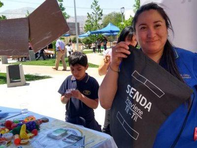 Previene Tiltil difunde labor preventiva en Feria de la Infancia