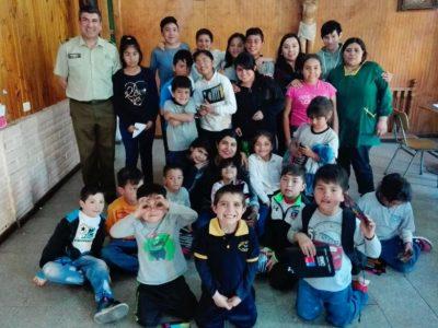 SENDA Previene Melipilla realiza taller en el Hogar Padre Demetrio Bravo ( no publicar)