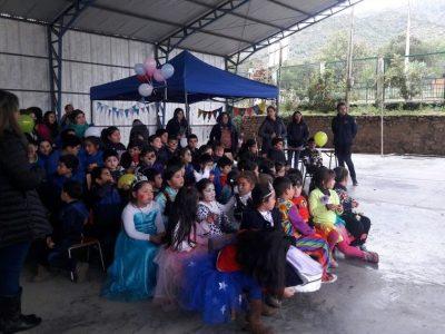 Previene Melipilla lleva mensaje preventivo a estudiantes de Alhué