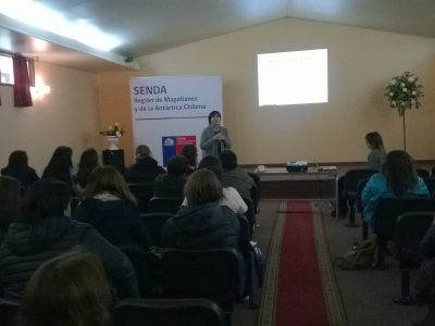 Jornadas de Parentalidad Positiva se realizaron en Tierra del Fuego , Última Esperanza y Magallanes