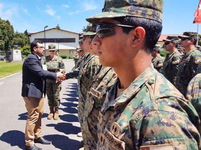 SENDA Biobío capacita por primera vez a personal del Ejército de Chile en habilidades preventivas parentales