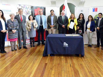 En Valparaíso se realiza primera sesión del Consejo de Educación Superior de SENDA y casas de estudio de la región para el abordaje del consumo de sustancias