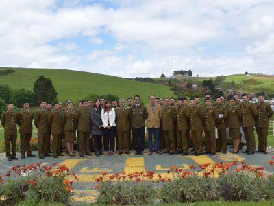Carabineros de la Provincia de Chiloé se certifican en prevención del consumo de drogas y alcohol