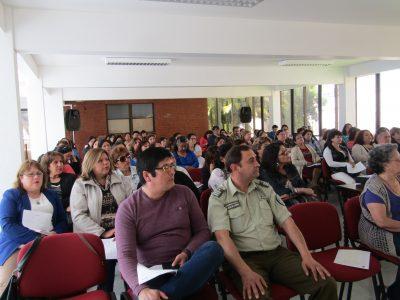 Un centenar de dirigentes sociales de la comuna de Talca se capacitan en Seminario organizado por SENDA Previene.