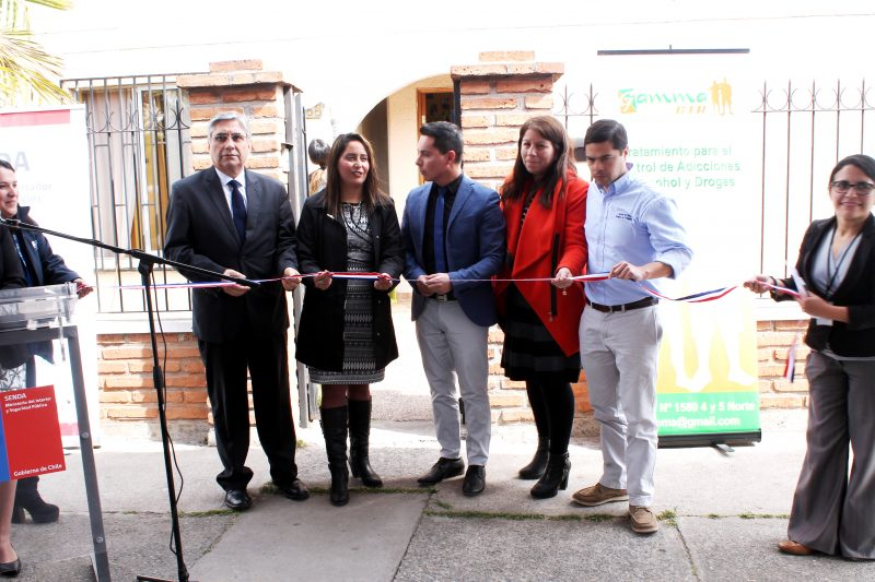 Senda inaugura un nuevo Centro Terapéutico en la comuna de San Fernando