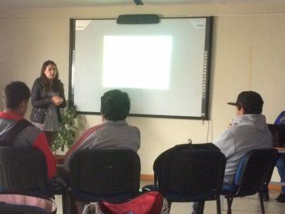Alumnos de liceo de Coquimbo participan en taller preventivo