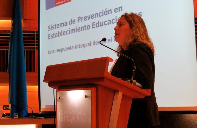 Con alta convocatoria se realizó Seminario de Prevención de Drogas en Contextos Escolares