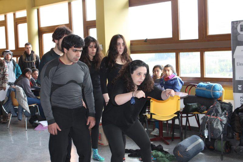SENDA Realizó Intervención Urbana en Universidades de la Región de Aysén
