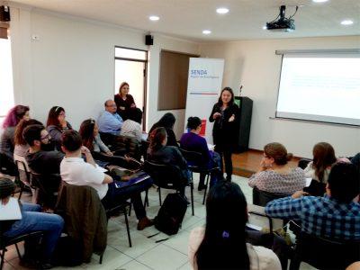 Capacitan a equipos profesionales de centros de rehabilitación de Antofagasta