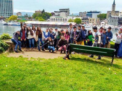 Estudiantes de Enseñanza Media de La Unión realizaron salida educativa a la ciudad de Valdivia