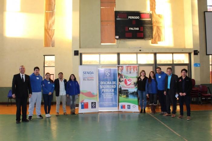 SENDA Previene Río Bueno realizó 8ª versión de Olimpiadas Preventivas para Educación de Adultos