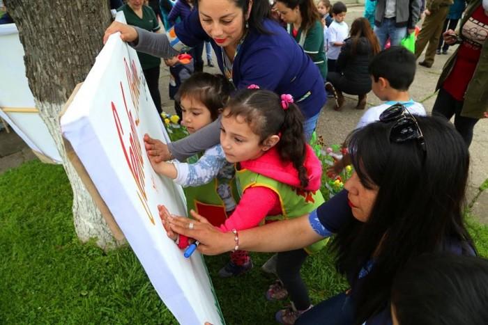 Jardines infantiles de Río Bueno refuerzan su compromiso con la prevención del consumo de sustancias