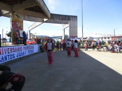"""Comunidad de la Parroquia """"Santos Juan y Pedro"""" celebró junto a SENDA Previene Valdivia su aniversario n°18"""