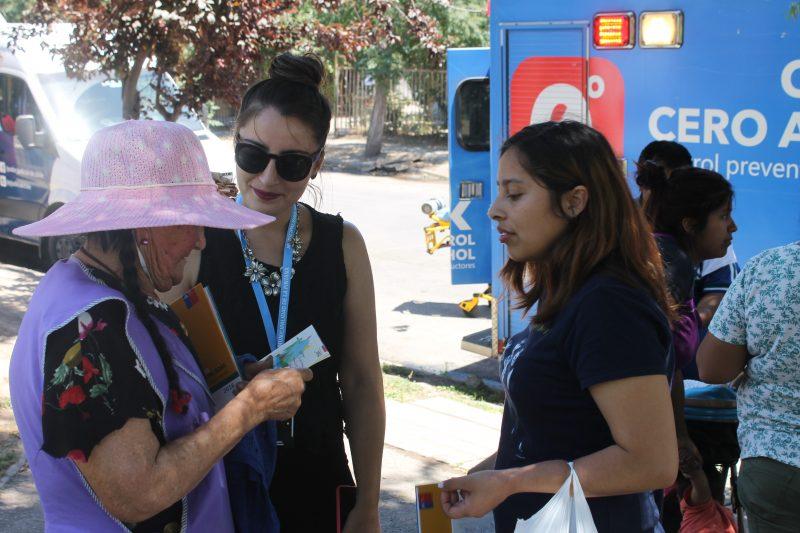 SENDA dialoga con vecinos y vecinas de Villa La Primavera de La Pintana