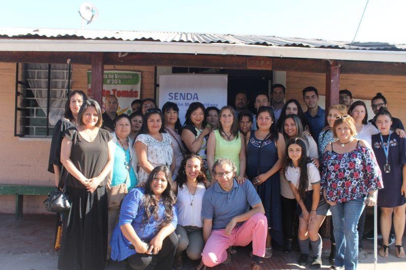 Consejo de la Sociedad Civil de SENDA RM sesiona en la Villa Santo Tomás de La Pintana