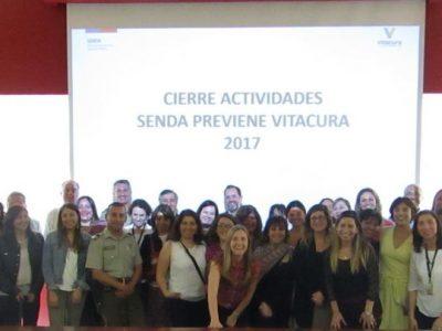 SENDA Previene Vitacura realiza encuentro con la comunidad