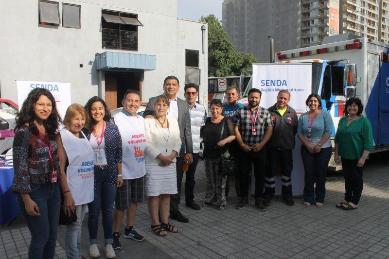 SENDA dialoga con vecinos y vecinas en «Municipio Extendido» de Macul