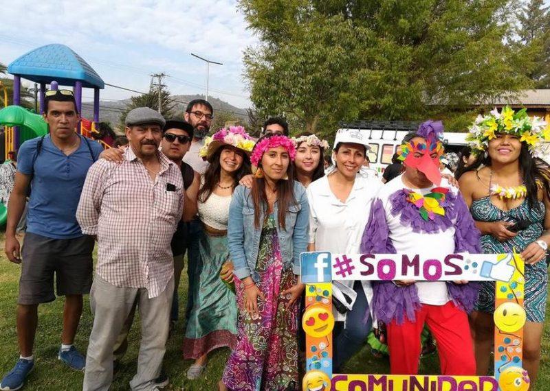 Vecinos y vecinas de Melipilla participan de Carnaval #SomosComunidad