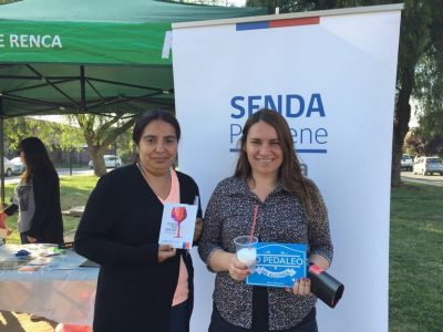 SENDA Previene organiza tarde entretenida para comunidad del sector Nueva Renca