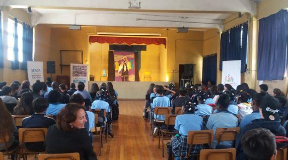 Escuelas de Cerrillos finalizan trabajo 2017 con el programa Actuar a Tiempo
