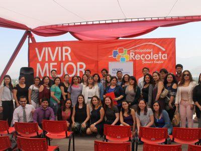 SENDA reconoce trabajo preventivo de establecimientos educacionales de Recoleta