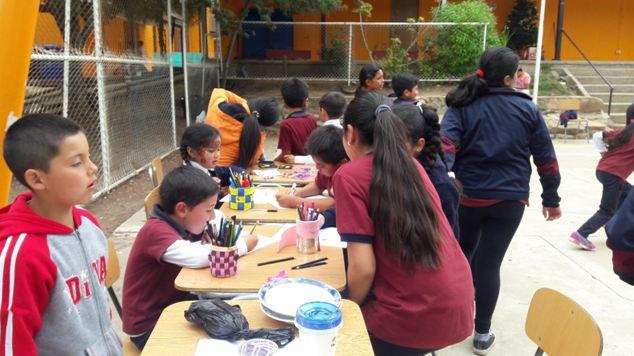 Previene San Pedro organiza entretenido recreo preventivo en Escuela La Manga