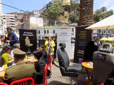 Senda Valparaíso lanza campaña para prevenir accidentes por alcohol en celebraciones de fin de año