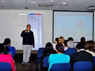 SENDA región del Maule capacitó a establecimientos educacionales que implementan programa Actuar a Tiempo.