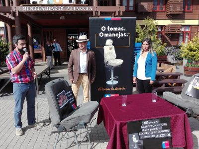 O tomas o manejas: Senda Araucanía lanza campaña preventiva para fiestas de fin de año