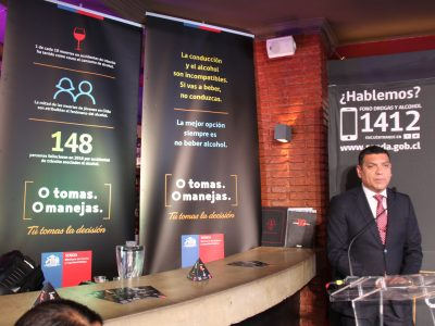 Gobierno lanza campaña de prevención de accidentes de tránsito por alcohol en Fiestas de Fin de Año