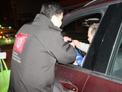 Más de 800 controles preventivos a conductores realizó SENDA Los Ríos junto a Carabineros durante fin de semana largo