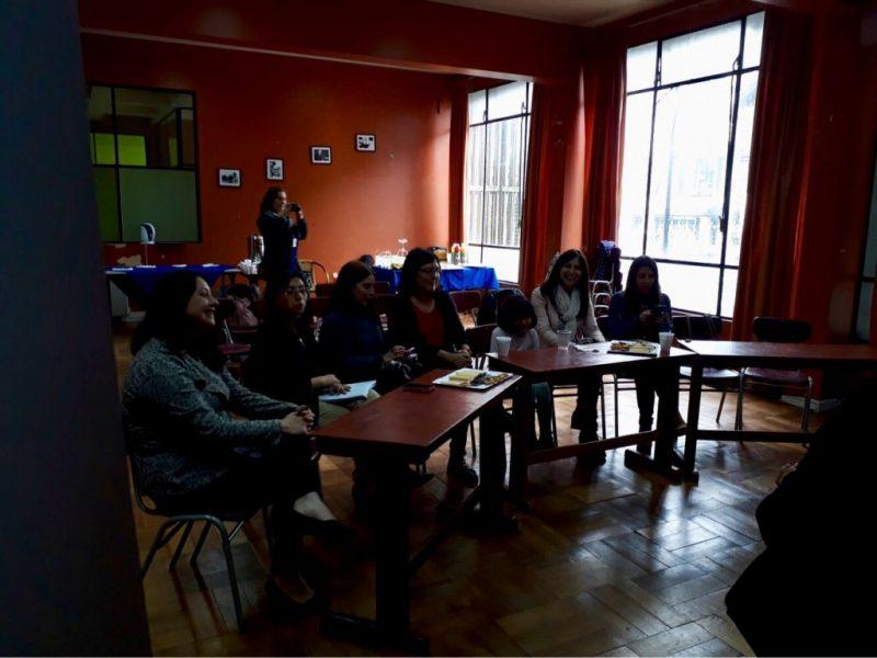 Programa Actuar a Tiempo de SENDA Previene Valdivia evaluó actividades del año junto a profesionales de establecimientos focalizados