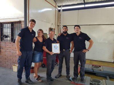 Comercial Friara recibe certificado por trabajo preventivo