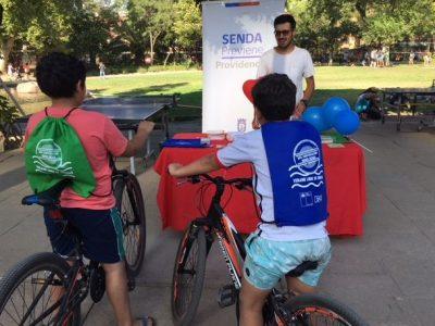SENDA Previene Providencia difunde campaña con actividad recreativa