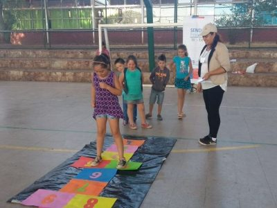 Con jornada recreativa difunden campaña Verano Libre de Drogas en Tilil