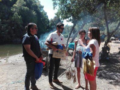 Cordillera de San Clemente fue visitada con mensajes preventivos de la campaña de verano del SENDA