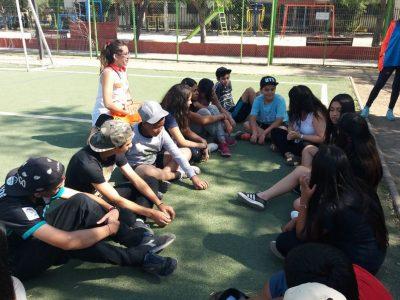 Jóvenes de Ñuñoa dialogan con nuestro equipo SENDA Previene