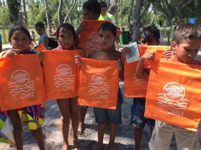 Niños, niñas y adolescentes de Isla de Maipo se informan sobre campaña «Verano Libre de Drogas»