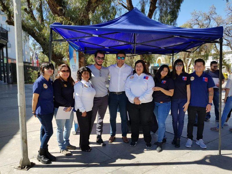 Coordinan trabajo preventivo en colegios de Monte Patria